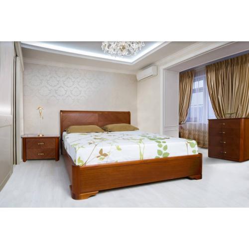 Деревянная кровать Ассоль с подьемным механизмом Микс Мебель 180 см