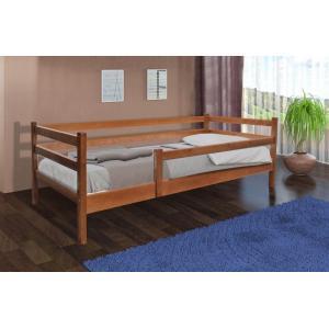Деревянная кровать Соня Микс Мебель с забором 80 см