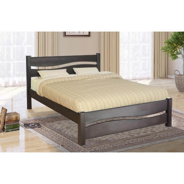 Деревянная кровать Волна Микс Мебель 160 см