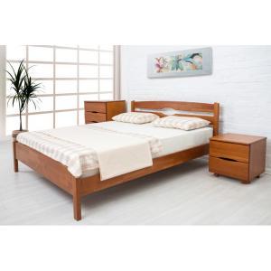 Деревянная кровать Ликерия Люкс Микс Мебель 80 см