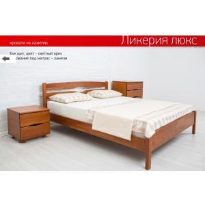 Деревянная кровать Ликерия Люкс Микс Мебель 90 см