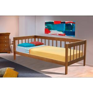 Деревянная кровать Малибу Микс Мебель 90 см